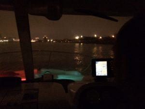 Pascal en navigation de nuit